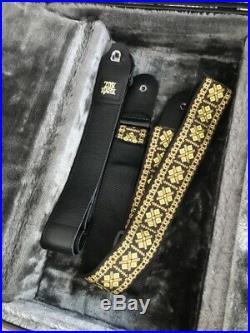 Epiphone G 1275 Double Neck Guitar Custom Ebony Piano Black new, incl. Case