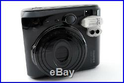 Excellent+++++ Fujifilm Instax Mini 50S Piano Black withCase From Japan #7390