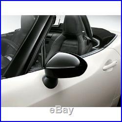 Fiat 124 Spider Piano Black Mirror Covers 71807600