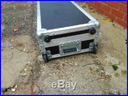 Full Size Electronic Piano Keyboard Robust Flight Case. Brand unknown