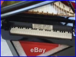 Fur Elise GRAND PIANO Music Box 8 Long Beethoven Brand New in Black Case