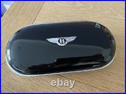 Genuine Bentley Continental GT Gen 2 Sunglasses Case Piano Black/ Black Leather