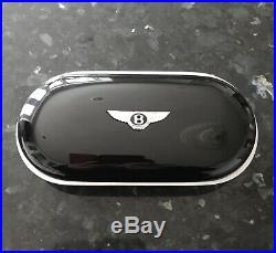 Genuine Bentley Glasses Sunglasses Case Piano Black Finish for Centre Console