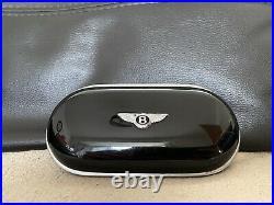 Genuine Bentley Sunglasses Case / Console Piano Black Bentley Continental
