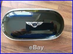 Genuine Bentley Veneer Sunglasses Glasses Case Piano Black Continental Bentayga