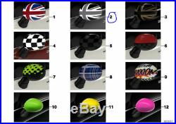 Genuine MINI Piano Black Jack Mirror Caps F54, F55, F56, F57&F60 51162409446/915