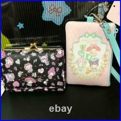 Hello Kitty Sanrio Kuromi My Melody Piano Purse Wallet Case Japan