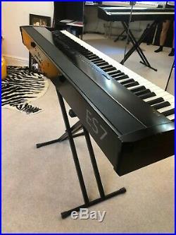 KAWAI ES7 88 Weighted Keys Portable Digital Piano Keyboard BLACK with case