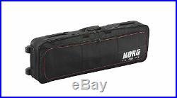 KORG CB-SV-73 Rolling Carry Case for KORG SV1-73 Stage Piano Black