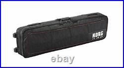 KORG CB-SV-88 Rolling Carry Case for KORG SV1-88 Stage Piano- Black