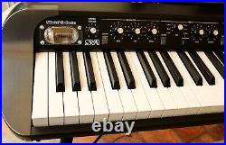 KORG SV-1 73 Stage Piano in Black, with original Stand, Roller Case and Pedals