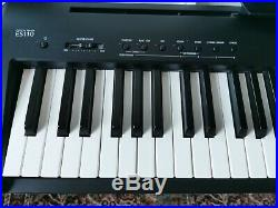 Kawai ES110 Portable Piano Keyboard Black 88 fully wieghted Keys with flight case