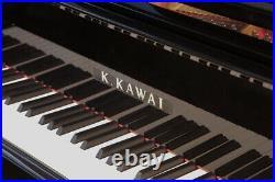 Kawai GL-10 baby grand piano with a black case. 5 year warranty