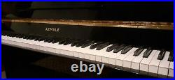 Kemble Classic Piano upright for sale Black Polished case great sound and touch