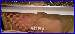 Kemble Classic upright Piano polished black case great sound and touch