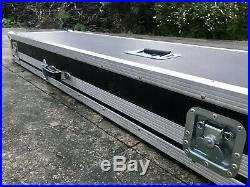 Keyboard Flightcase For Hammond SK1 88 Or Other Stage Piano Hardly Used Case
