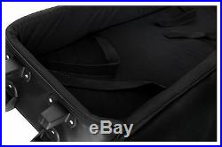 Keyboard Stage Piano Bag Gigbag Carry Case Transport with Trolley 138x36.5x17cm