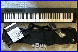Korg D1 Digital Piano (Black) + Sequenz SC-D1 Dedicated Case for the Korg D1