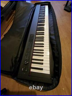 Korg D1 Digital Stage Piano Bundle Keyboard, Case and Stand