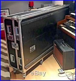 Large Flight Case on Wheels for Mixer Console Piano Soundcraft Allen & Heath