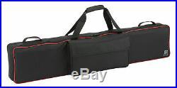 Leichter Softcase passend für das Korg D1 Digitalpiano mit extra Stauraum, Black
