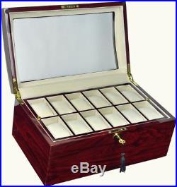 Luxury Display Watch storage Case for 24 watches -model Watchpro-24 Series