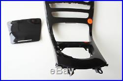 Mercedes W205 Centre Console Cover Plate Fairing A2056805807 Piano Varnish