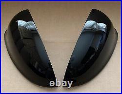 Mint Pair Genuine Vauxhall Piano Black Mk6 Astra J Gtc Vxr Sri Mirror Covers