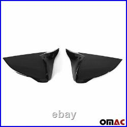 Mirror Casing for Seat Arona 2017-2020 Mirror Cover Piano Black ABS 2x