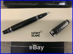 Mont Blanc Boheme Noir Rollerball Pen, Piano Black Storage Case and Box