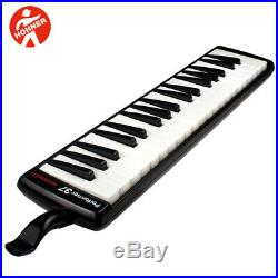 NEW Hohner S37 Performer 37-Key Piano Melodica with Carrying Case Black