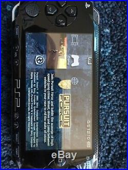 PSP 1003 Console Piano Black & Protective Case