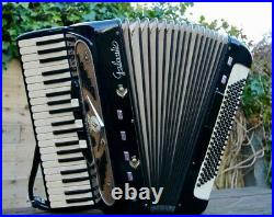 Piano Accordion Galanti Vintage LMMM Golden age lovely instrument see video demo