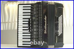 Piano accordion akkordeon WELTMEISTER METEOR 60 bass