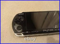 PlayStation Portable PSP 3003 Slim & Lite Piano Black Console Ben 10 Game + Case