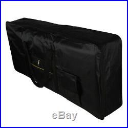 Portable 61 Key Keyboard Electric Piano Padded Case Gig Bag For YAMAHA CASIO UK