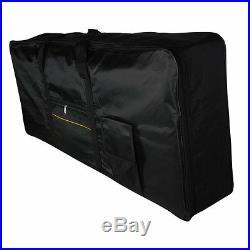 Portable 61-Key Keyboard Electric Piano Padded Case Gig Bag Oxford Cloth I9F6