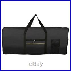 Portable 61-Key Keyboard Electric Piano Padded Case Gig Bag Oxford Cloth V5N4