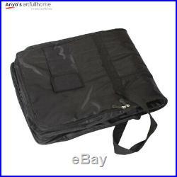 Portable 61Key Keyboard Electric Piano Padded Case Gig Bag Advanced Fabric Black