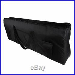 Portable 76-Key Keyboard Electric Piano Padded Case Gig Bag Oxford Cloth V6 Z1G2