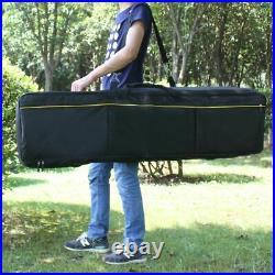 Portable 88-key Keyboard Electric Piano Bag Padded Case Gig Bag Oxford Cloth