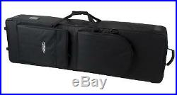 Professional Keyboard Stage Piano Bag Case Soft Padded with Trolley Handle 115cm