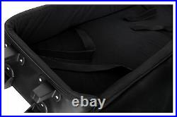 Professional Keyboard Stage Piano Bag Case Soft Padded with Trolley Handle 133cm