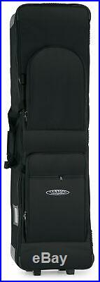 Professional Keyboard Stage Piano Bag Case Soft Padded with Trolley Handle 138cm