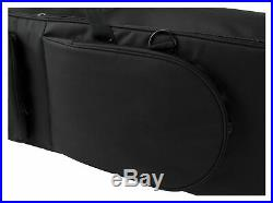 Professional Keyboard Stage Piano Bag Case Soft Padded with Trolley Handle 140cm