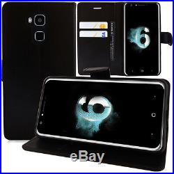 Protective Cover for Doogee Y6 5.5 / Y6c/Y6 Piano Phone Briefcase Flip Case