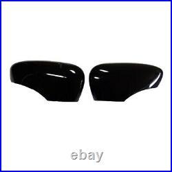 Renault Ca Clio IV Mirror Casing Cover Black Shiny Piano Lacquer Finish