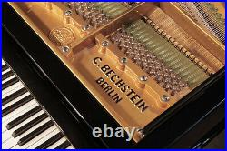 Restored, Bechstein Model A grand piano with a black case. 3 year warranty