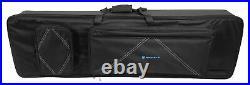 Rockville 88 Key Slim Padded Keyboard Gig Bag Case For KORG B1 Digital Piano