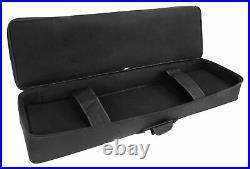 Rockville 88 Key Slim Padded Rigid Keyboard Gig Bag Case For NORD Piano 2 HA88